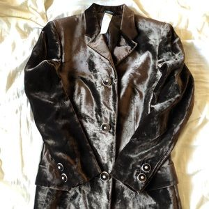 Vintage Gianni Versace blazer dress